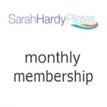 Sarah Hardy Pilates - Monthly Membership