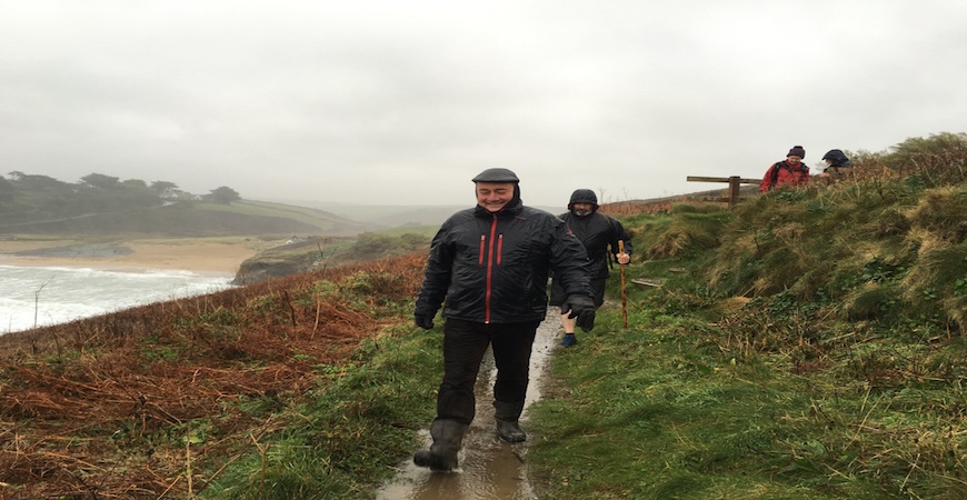 Walking in Cornwall whatever the weather